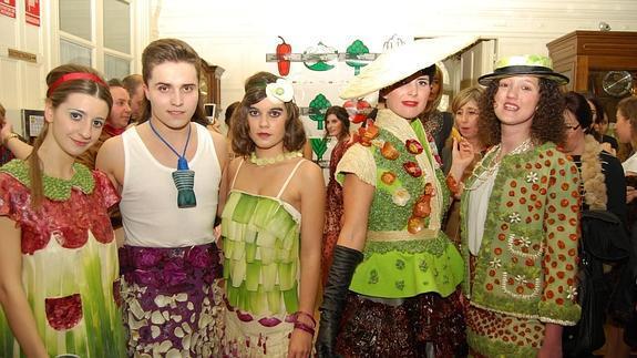 desfile de la moda agroalimentaria